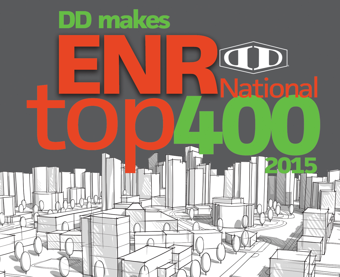 DD Makes ENR National Top 400 in 2015