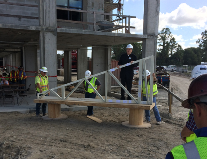"Arlington Project Celebrates ""Topping Off"""