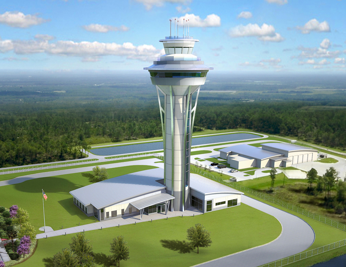 $50 Million dollar Air Traffic Control Tower Project Awarded to DeAngelis Diamond