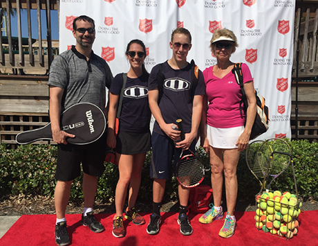DD Supports The Salvation Army at 12th Annual Rackets Up! Tennis Tournament