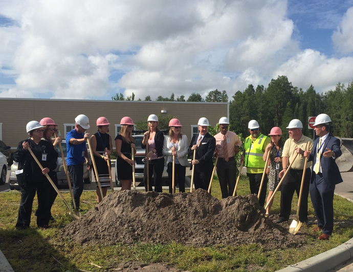 North Tampa Behavioral Health 24 Bed Addition Project Underway