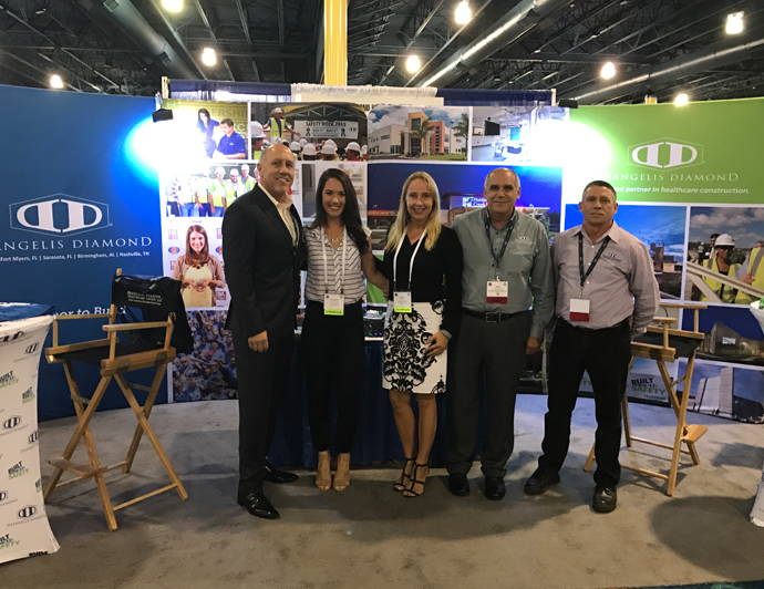 DeAngelis Diamond Hosts Double Booth at AHCA 2016