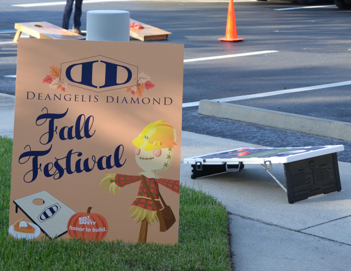 DeAngelis Diamond Naples Office Holds First Annual Fall Festival