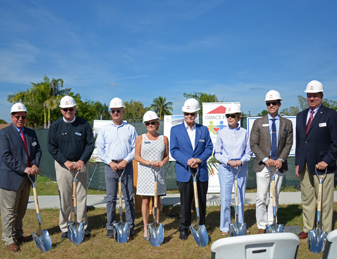 Ground Breaking Held at Grace Place