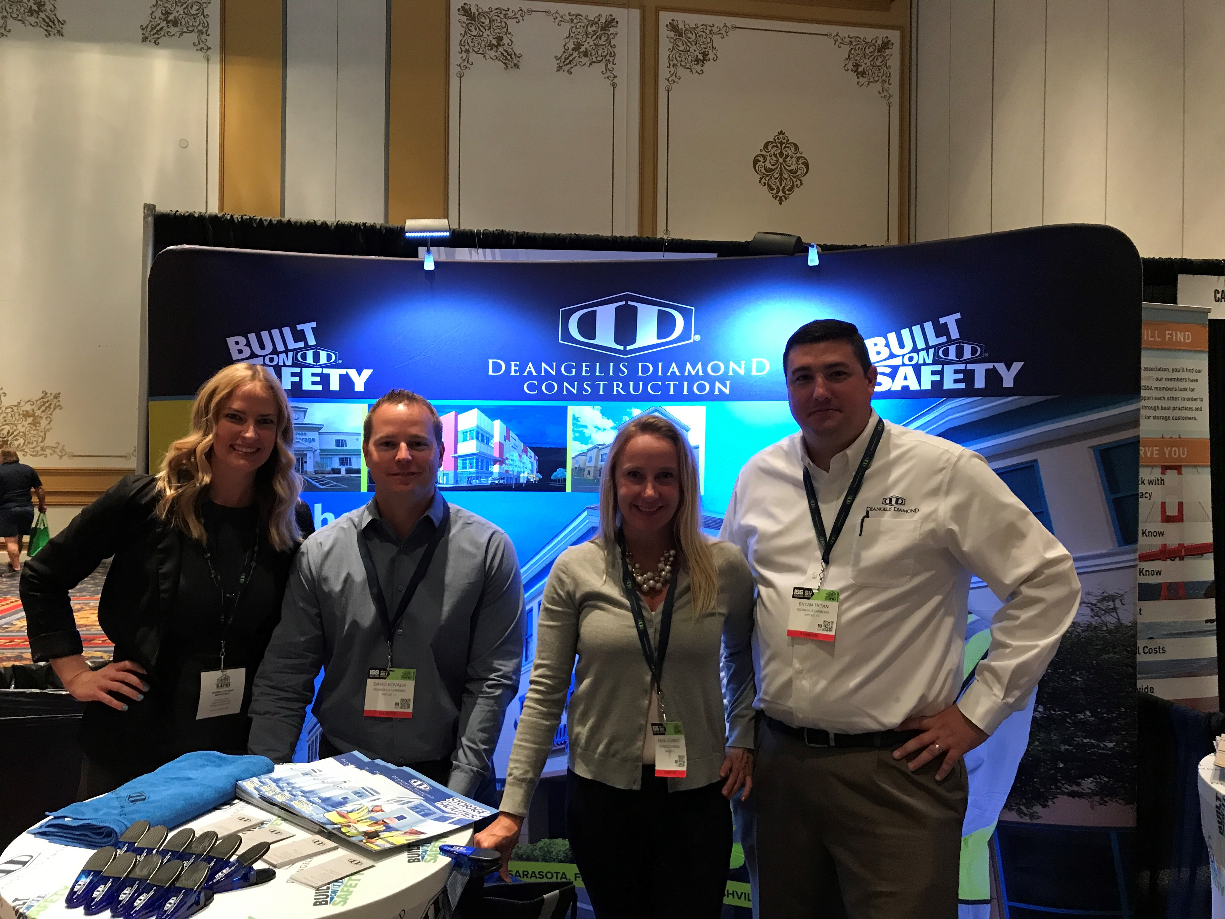 DeAngelis Diamond attends the Inside Self Storage World Expo Event