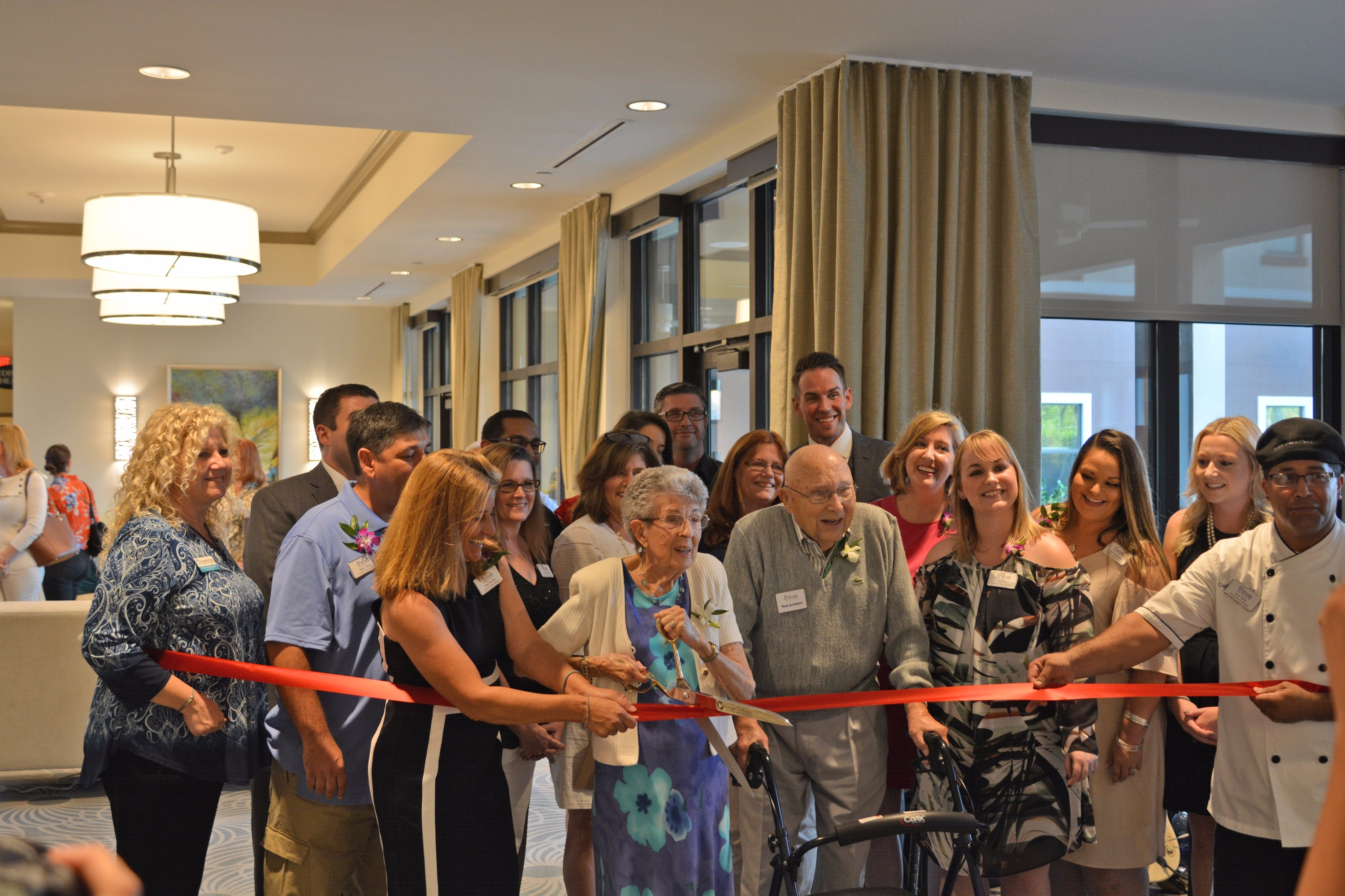 Ribbon Cutting Held for Thrive at Beachwalk