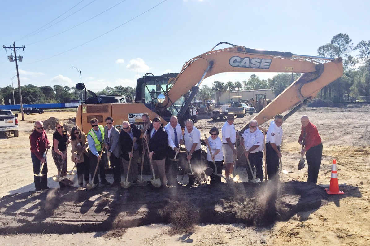 DeAngelis Diamond Breaks Ground on North Fort Myers Library