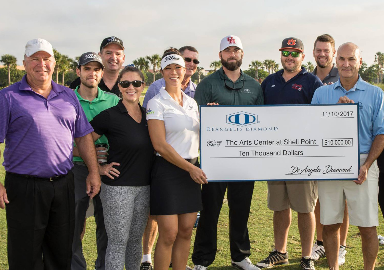 DeAngelis Diamond Sponsors Shell Point's Annual Open Charity Golf Tournament