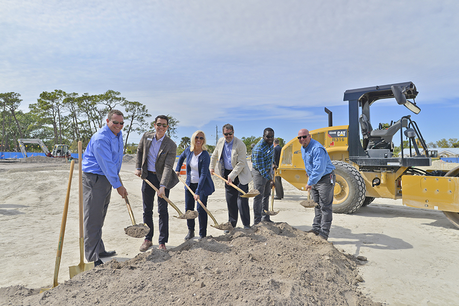 DeAngelis Diamond Breaks Ground on Bonita Springs Library
