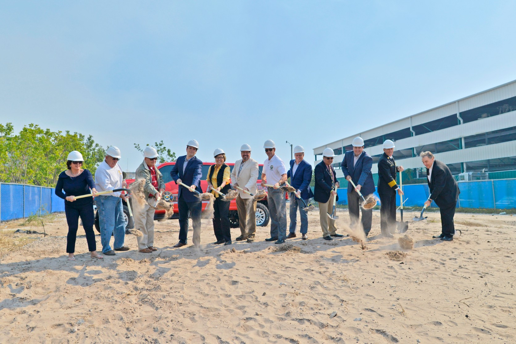 DeAngelis Diamond Breaks Ground on Marco Fire Station