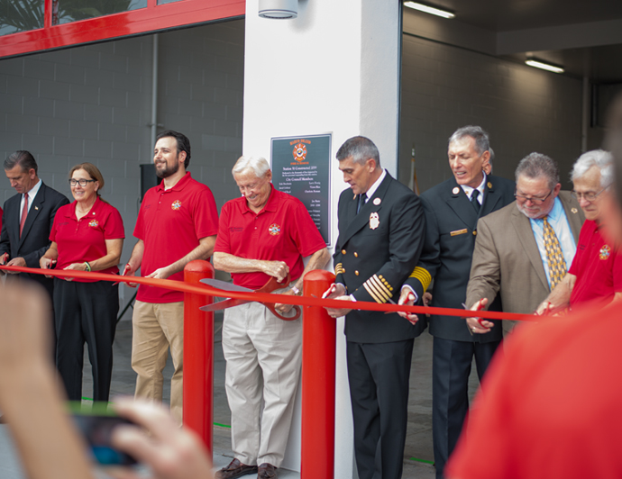 Marco Island Fire Station #51 Hold Ribbon Cutting Ceremony