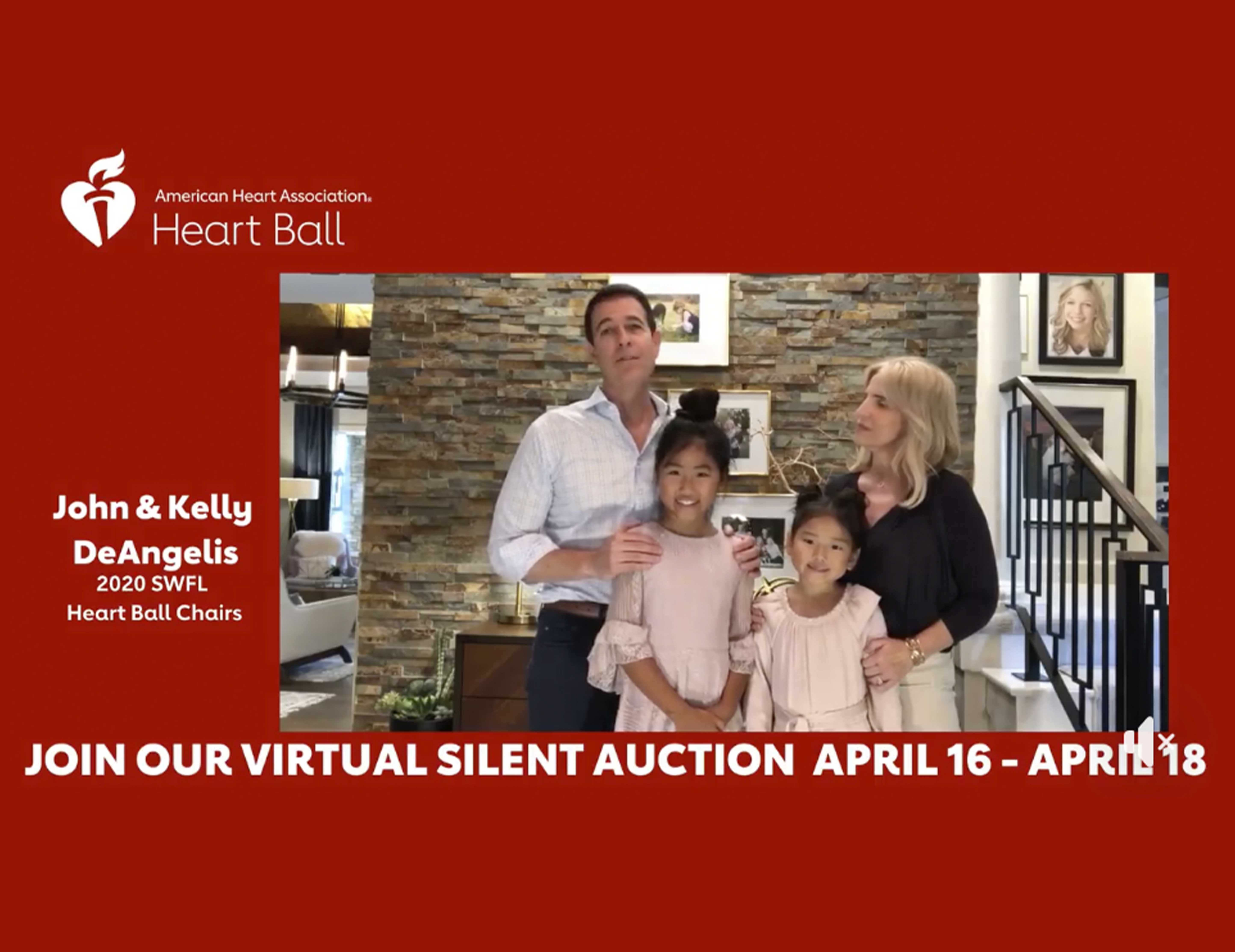 American Heart Association Heart Ball Virtual Auction